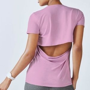 Fabletics | Open Back Work Out Top